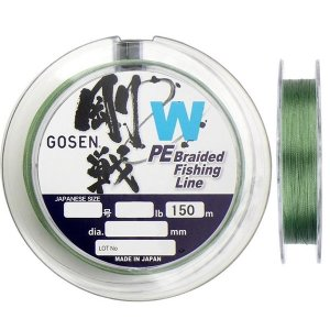 Шнур Gosen W4 braid Moss Green 150м