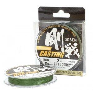 Шнур Gosen W8 Casting Moss Green 150м