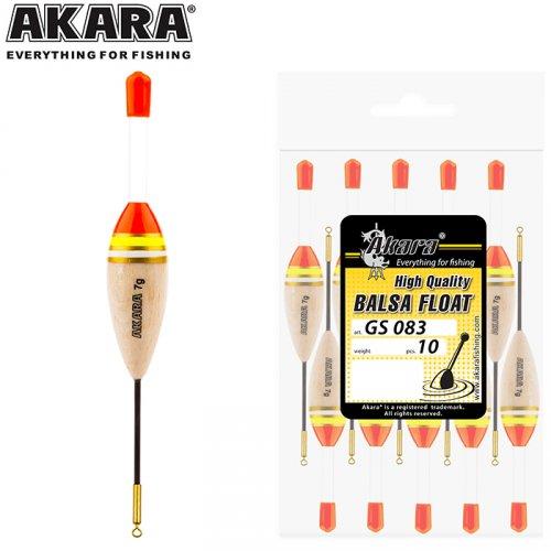 Поплавок Akara бальса GS083