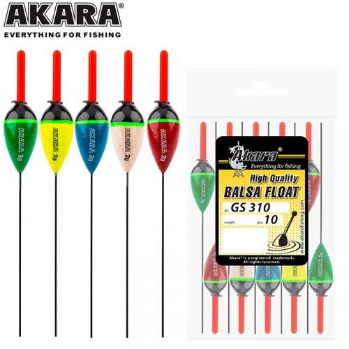 Поплавок Akara бальса GS310