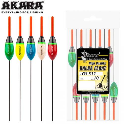 Поплавок Akara бальса GS311