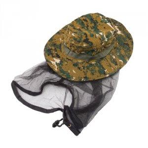 Накомарник шляпа КМФ клетка