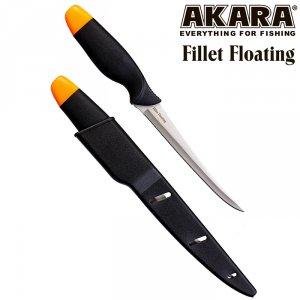 Нож филейный Akara Fillet Floating 26,5 см