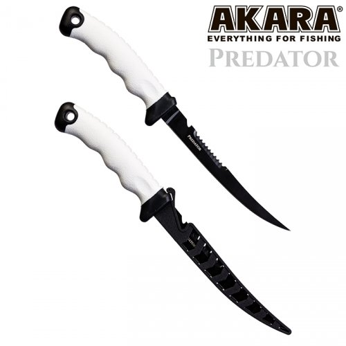 Нож филейный Akara Stainless Steel Predator 180 34,5 см