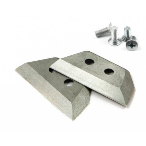 Ножи для ледобура 4 мм прямые (2 шт.)