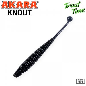 Силиконовая приманка Akara Trout Time KNOUT 2,5 Cheese (10 шт)