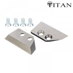 Ножи для ледобура Титан 4 мм. прямые 130 мм (2 шт.)