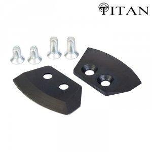 Ножи для ледобура Титан 4 мм. полуглуглые 130 мм (2 шт.)