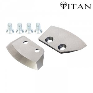 Ножи для ледобура Титан 4 мм. полуглуглые 150 мм (2 шт.)