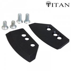 Ножи для ледобура Титан 4 мм. полуглуглые 150 мм универсал (2 шт.)
