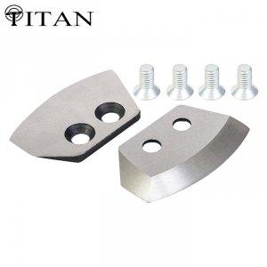Ножи для ледобура Титан 4 мм. полуглуглые 130 мм правое вращение (2 шт.)