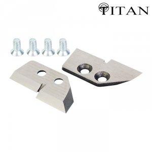 Ножи для ледобура Титан 4 мм. ступенчатые 130 мм (2 шт.)