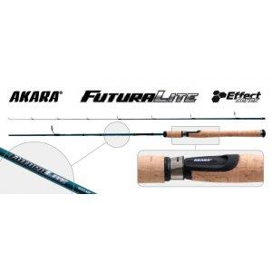 Спиннинг штекерный угольный 2 колена Akara L1232 Effect Series Futura Light IM8