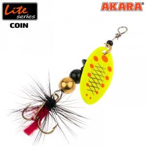 Блесна вертушка Akara Lite Series Coin 1