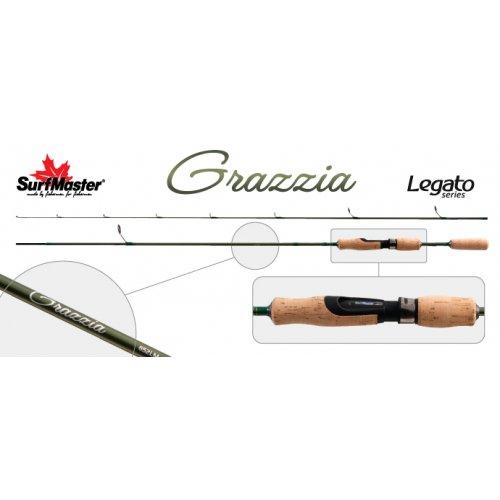 Спиннинг штекерный угольный 2 колена Surf Master LC1246 Legato Series Grazzia TX-20