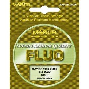 Леска MARUTO Fluo Yellow 100 м