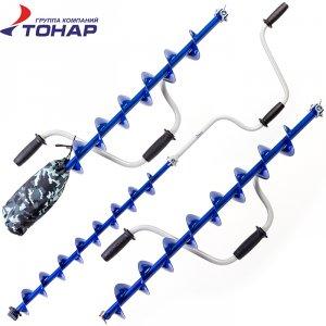 Ледобур Тонар спортивный ЛР-100СД левое вращение