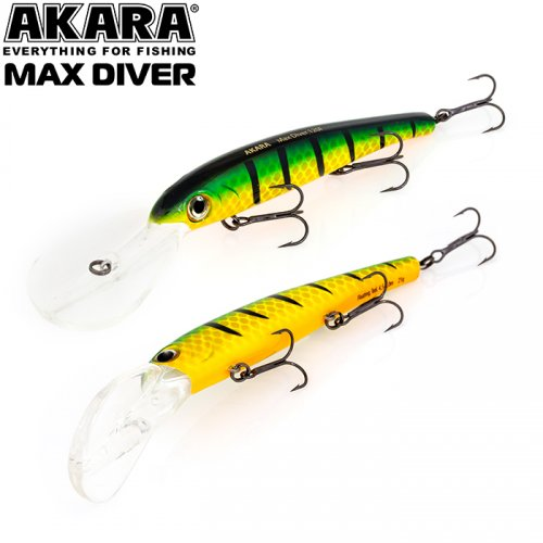 Воблер Akara Max Diver 120 F