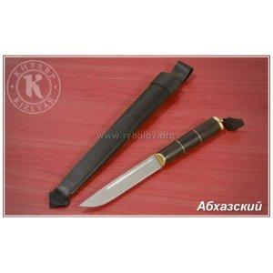 Нож Абхазский (металл/дерево-орех) большой