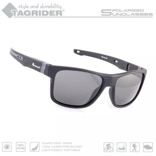 Очки поляризационные Tagrider в чехле N05-2 Gray