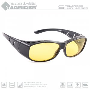 Очки поляризационные Tagrider в чехле N06-3 Yellow