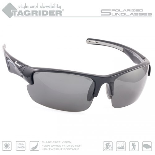 Очки поляризационные Tagrider в чехле N09-2 Gray