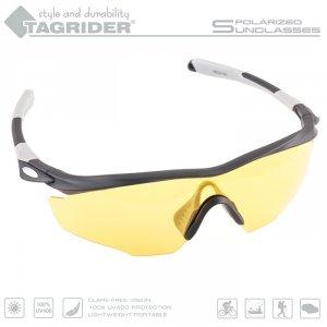 Очки поляризационные Tagrider в чехле N10-3 Yellow