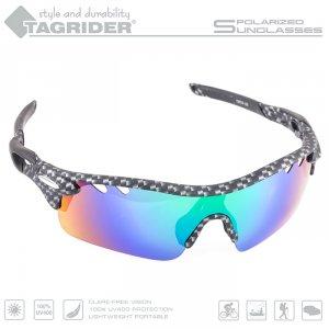 Очки поляризационные Tagrider в чехле N17-26 Blue Mirror