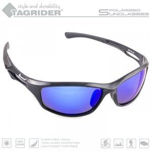 Очки поляризационные Tagrider в чехле N19-16 Blue Mirror