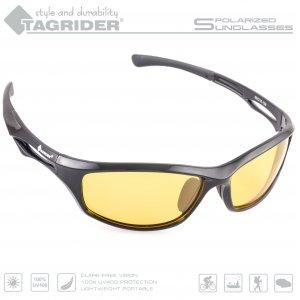 Очки поляризационные Tagrider в чехле N19-3 Yellow