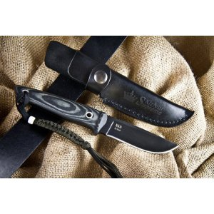 Нож Nikki Черный D2