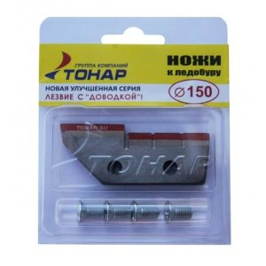 Ножи для ледобура Тонар ЛР-150(L) левое вращение NLT-150L.SL (2 шт.)