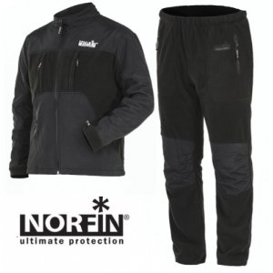 Костюм флис. Norfin Polar Line 2 Gray