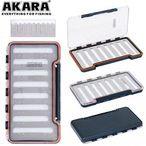 Коробка Akara NS-004 18,7х9,8х1,7 см для крючков