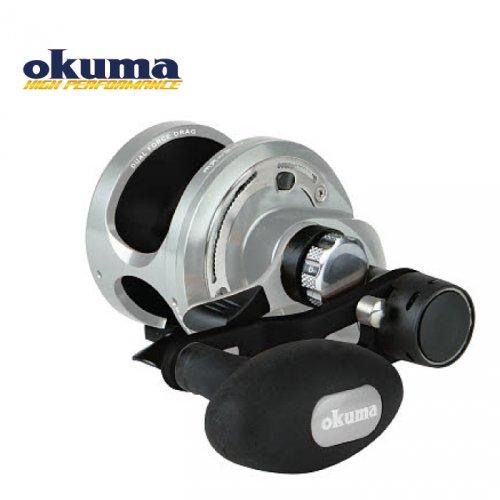 Катушка мультипликаторная Okuma Andros A-12- 2 Speed Silver/Black