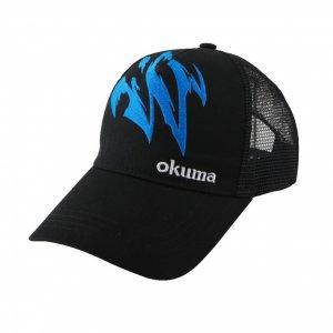 Кепка Okuma Черная с сеткой