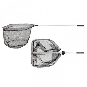 Подсачек PF-2 50x55 см прямоугольный резин. сетка разборный L145