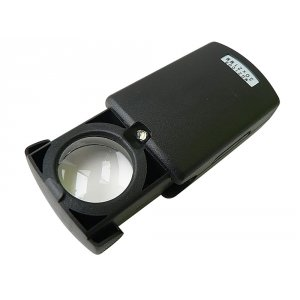 Лупа Следопыт в чехле 21 мм х 30 с подсветкой и компл.батареек
