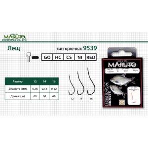 Поводок с крючком Maruto BREAM 9539