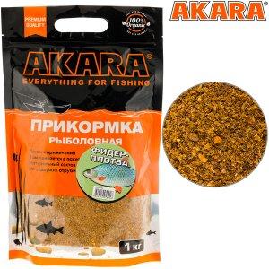 Прикормка Akara Premium Organic 1,0 кг Фидер Плотва