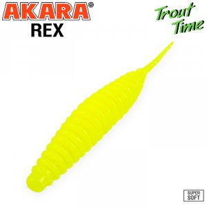 Силиконовая приманка Akara Trout Time REX 2,5 Cheese (10 шт)