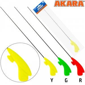 Удочка зимняя Akara RHC жёлтая (хлыст L средний Hi Carbon)