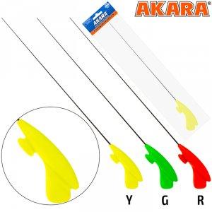 Удочка зимняя Akara RHC жёлтая (хлыст S мягкий Hi Carbon)