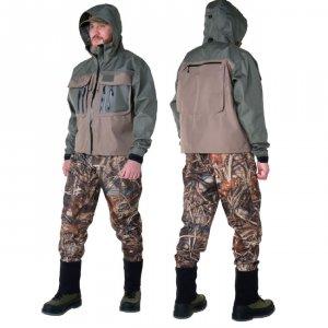 Куртка Alaskan River Master темно-оливковый/серый