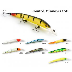 Воблер Raiden Jointed Minnow 120F