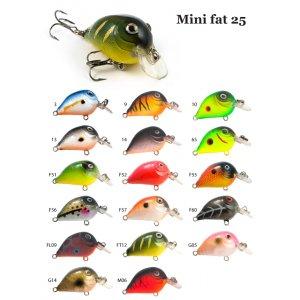 Воблер RAIDEN Mini Fat 25