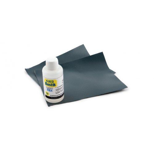 Ремкомплект (ткань ПВХ клей)