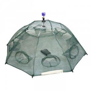 Раколовка-зонт 8 входов автомат