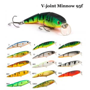Воблер RAIDEN V-Joint Minnow