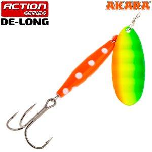 Блесна вертушка Akara Action Series De-Long